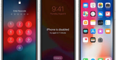 Passcode or Disable iOS13 iOS14