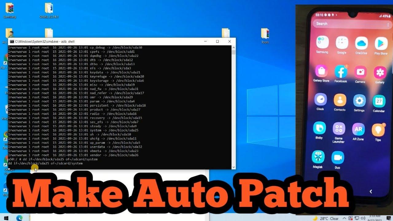 Samsung Auto Patch Make