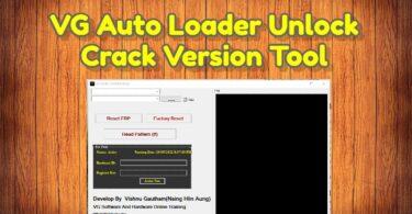 VG Auto Loader Unlock Crack Version Tool